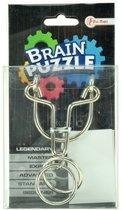 Toi-toys Brain Puzzle Hersenkraker Legendary Zilver/zwart