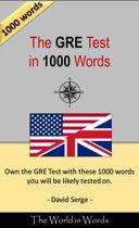 Omslag van 'The GRE Test in 1000 Words'