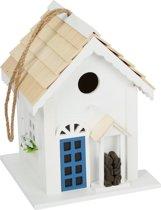 Houten vogelhuisje Cottage style, decoratie