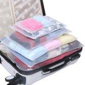 Travelsky Packing Cubes Set (7 stuks) - Koffer Organiser - Bagage Organizer - Pack Cubes - Bag Organizer - Travel Ordening - Kofferaccessoires - Reizen Accessoires - Vacuümzakken - Opbergzakken