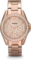 Fossil Rosékleurig Vrouwen Horloge ES2811