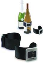 Pulltex PWC Wine Thermometer zwart