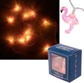 Flamingo  krans LED verlichting  - 165Cm