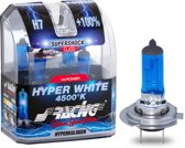 Simoni Racing Halogeen lampen - Autolampenset H7 - Hyper White - 12V/55W