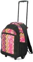 Benzi Toela - rugzaktrolley - kinderen - zwart/roze