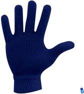 Sporthandschoenen - Hockey Voetbal Tennis Hardlopen - Winter handschoenen - Grip - Anti Slip - Junior - XS / S - Meisjes / Jongens - Blauw