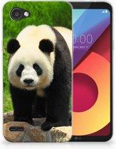 LG Q6   LG Q6 Plus TPU Hoesje Design Panda