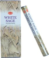 White sage / witte salie wierook (HEM) Doos 6 pakjes a 20 stokjes