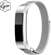 Milanees Fitbit Alta / Alta HR Bandje – Small – RVS Milanees Watchband voor de Activity Tracker – Zilver / Silver – Band met Magneetsluiting