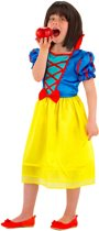 Sneeuwwitje Jurk - Prinsessenjurk - Maat 116-134 - Carnavalskleding