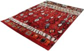 Karpet Marokko 834-75 Rood 80 x 150 cm