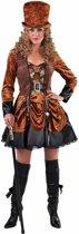 Steampunk Kostuum | Aristocratisch Victoriaans Steampunk | Vrouw | Large | Carnaval kostuum | Verkleedkleding