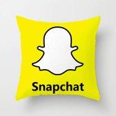 Kussenhoes Snapchat sociale media