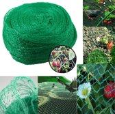 Extra Sterk Groen Vogelnet – 5 x 4 Meter – Maaswijdte 10 mm | Tuinnet Vogels