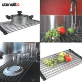 Utensill multifunctioneel keukenrek - afdruiprek - pannen onderzetter