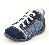 Leren jongens schoenen met jeans look - Maat 20