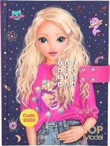 TOPModel Dagboek met Geheime Code - Candy