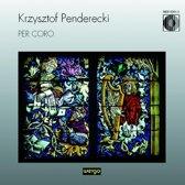 Per Coro - Penderecki / Wojnarowski, Penderecki, et al