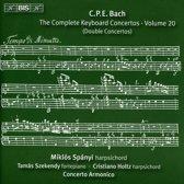M Concerto Armonico Budapest/Spanyi - Bach: Keyboard Concertos, Volume 20