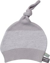Snoozebaby Gebreid Mutsje - light grey
