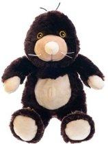 Magnetron warmte knuffel mol 18 cm - Verwijderbare zak - Warmte/koelte knuffelmol - Kruik knuffels voor kinderen/jongens/meisjes