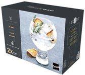 2x Luxe cocktailglazen/drinkglazen - 540 ml - 2-delig - cocktailglas
