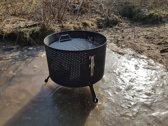 Drommel Barbecue RVS