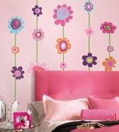 RoomMates Muursticker Flower Stripe - Multi