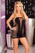 713748d95ad223 Naadloze mini jurk met V-voorkant. Vergelijk. Pink Lipstick