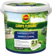 Floranid gazonmeststof met mosbestrijder 6 kg - 200m²