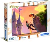 "Clementoni - ""The art of"" legpuzzelgamma - Tangled - 1000 stukjes - Disney"
