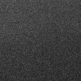Mat zwart afzetpaal met uittrekbaar rood lint 2.00m