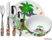 WMF Kinderbestek Junglebook - 6-delig
