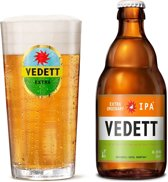 Vedett Extra Bierglazen - 33 cl - 2 stuks