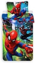 Spider-Man Action - Dekbedovertrek - Eenpersoons - 140x200 - Multi
