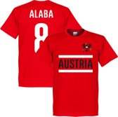Oostenrijk Alaba 8 T-Shirt - S
