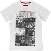Losan Jongens Shirt Wit met print - Maat 140
