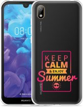 Huawei y5 2019 Hoesje Summer Time
