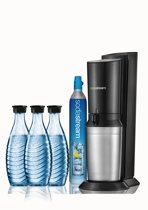 Sodastream Crystal Megapack - Black - Incl. 3 Flessen