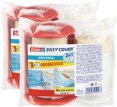 Tesa Easy Cover 20 m x 550 mm + 1 navulling promo 2 stuks
