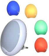 1x Nachtlampje LED  Nachtlamp stopcontact   Nachtlamp   Nachtlampjes