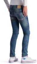 Jongens Jeans - Spijkerbroek Solar Blauw maat 128