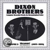 The Dixon Brothers Vol 3 1937 - 193