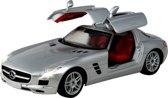 Racetin Mercedes Benz SLS AMG 1:16 - Bestuurbare auto - Zilver