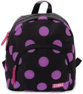 Zebra Trends Girls Rugzak Glitter Dots Hot Pink