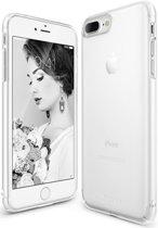 |GoldenFix-IT| Slim Apple iPhone 7 Plus / 8 Plus ultra dun hoesje Frost White