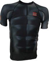Nihon Thermoshirt Rashguard Humanoid Heren Zwart Maat L