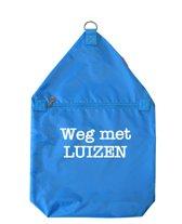 Luizenzak | Helderblauw
