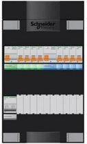 Schneider groepenkast 1 fase met 8 groepen en afmetingen 380x220 mm