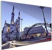 FotoCadeau.nl - Verlosserkerk Warschau Glas 60x40 cm - Foto print op Glas (Plexiglas wanddecoratie)